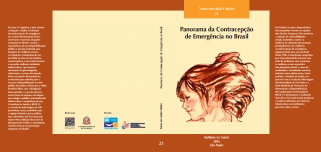 """Livro: """"Panorama da contracepção de emergência no Brasil até 2015"""""""
